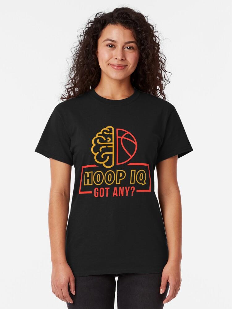Alternate view of Hoop IQ Basketball T-Shirts Classic T-Shirt