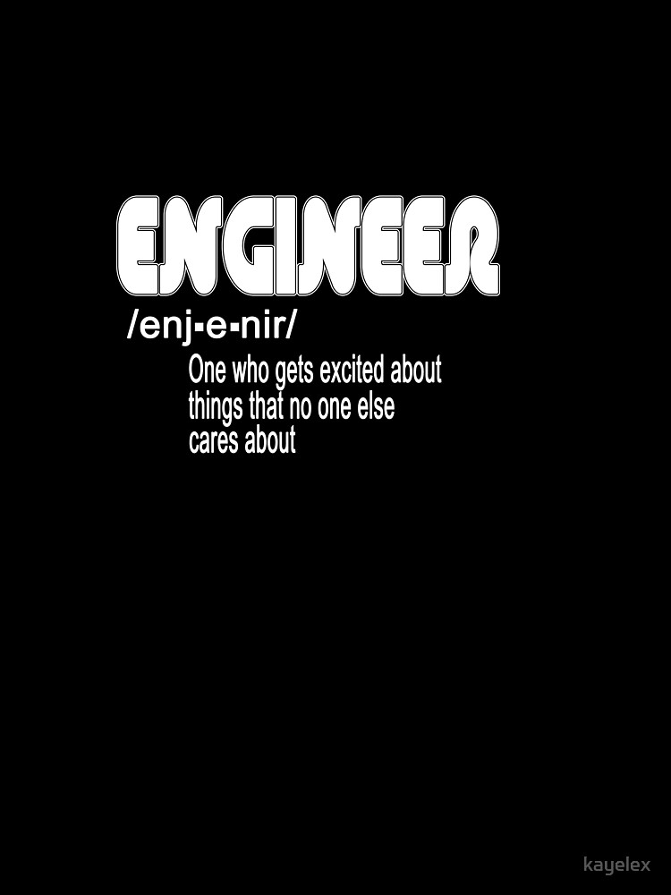 f093e11b Funny Engineer Definition Engineering Gift
