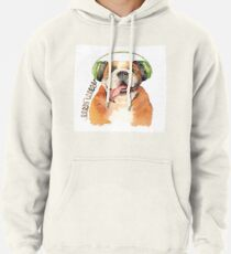 Jeremiah Was a Bulldog Pullover Hoodie