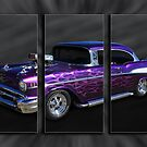 Chevy Triptyche by Keith Hawley