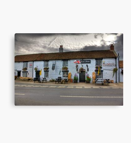 Freemasons Arms - Nosterfield Canvas Print