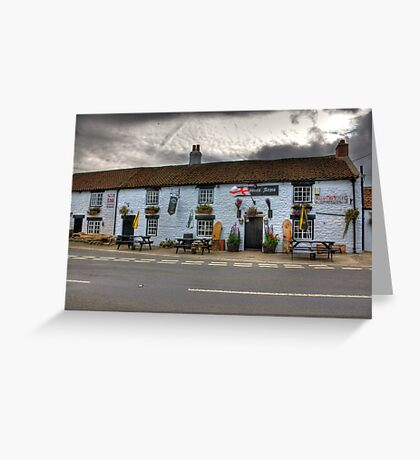 Freemasons Arms - Nosterfield Greeting Card
