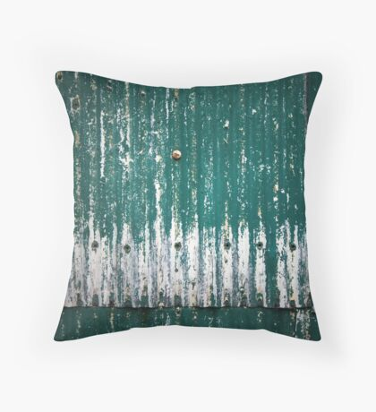 Behind the Old Shed Throw Pillow