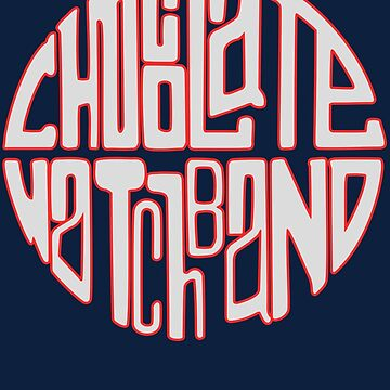 Chocolate Watchband Shirt by RatRock
