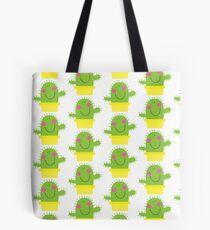 Cutie Cactus Tote Bag