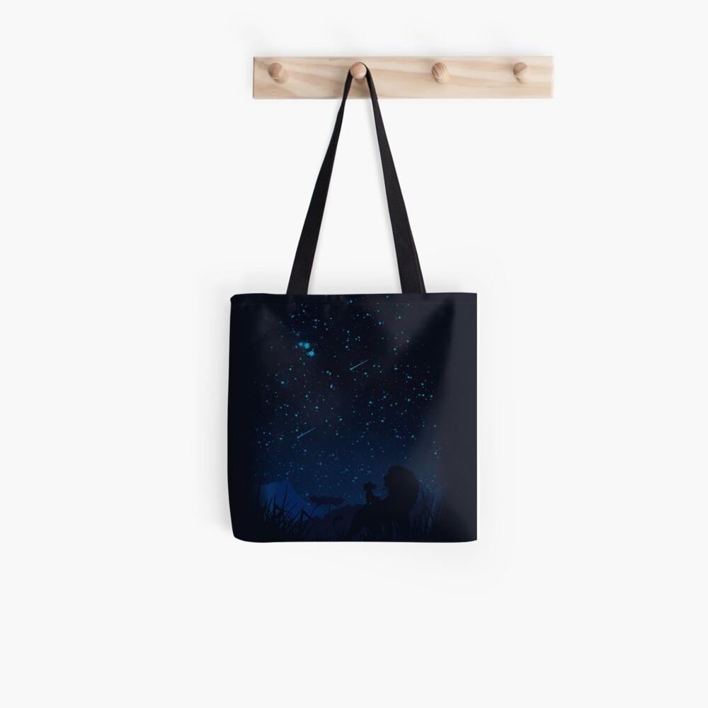 Mirando las estrellas Bolsa de tela