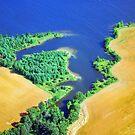 Aerial Shoreline 2 by Robert Goulet
