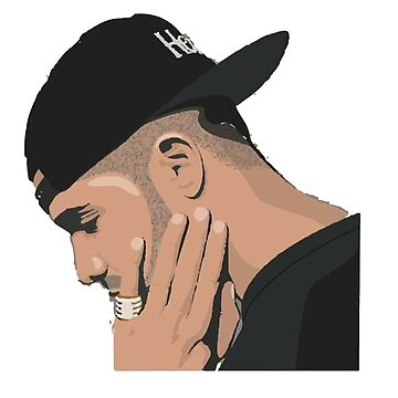 Drke Drizzy Rapper Fitted Cap T Shirt by arrowroottees
