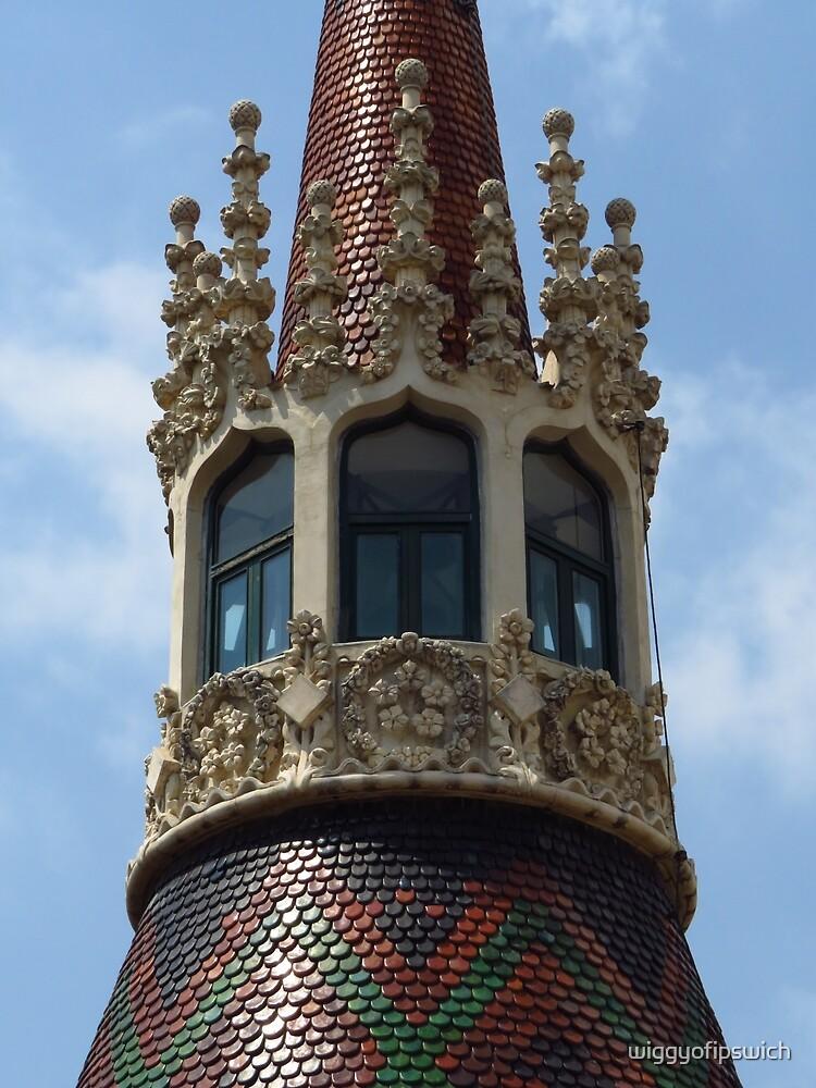 Modernista Tower, Barcelona by wiggyofipswich