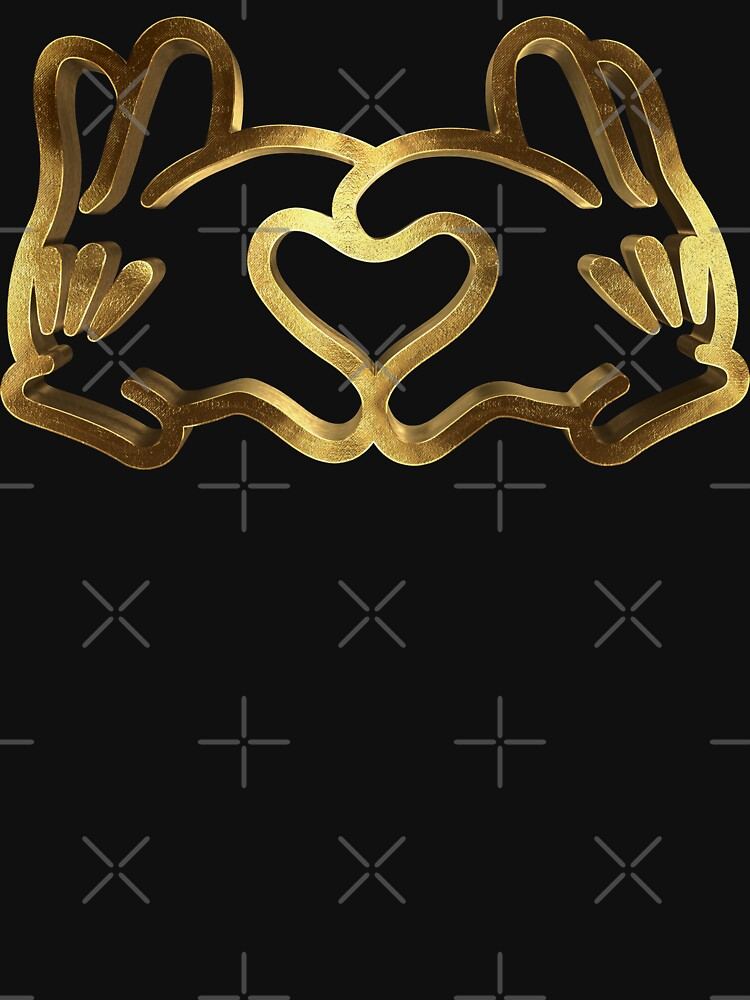 Love with Gold Hand by Under-TheTable