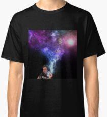 Camiseta clásica Elon Musk Fumando Marihuana - Espacio Exterior