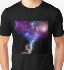 Elon Musk Smoking the Universe Unisex T-Shirt