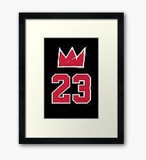 MJ Crown 23, pocket - 3 Framed Print