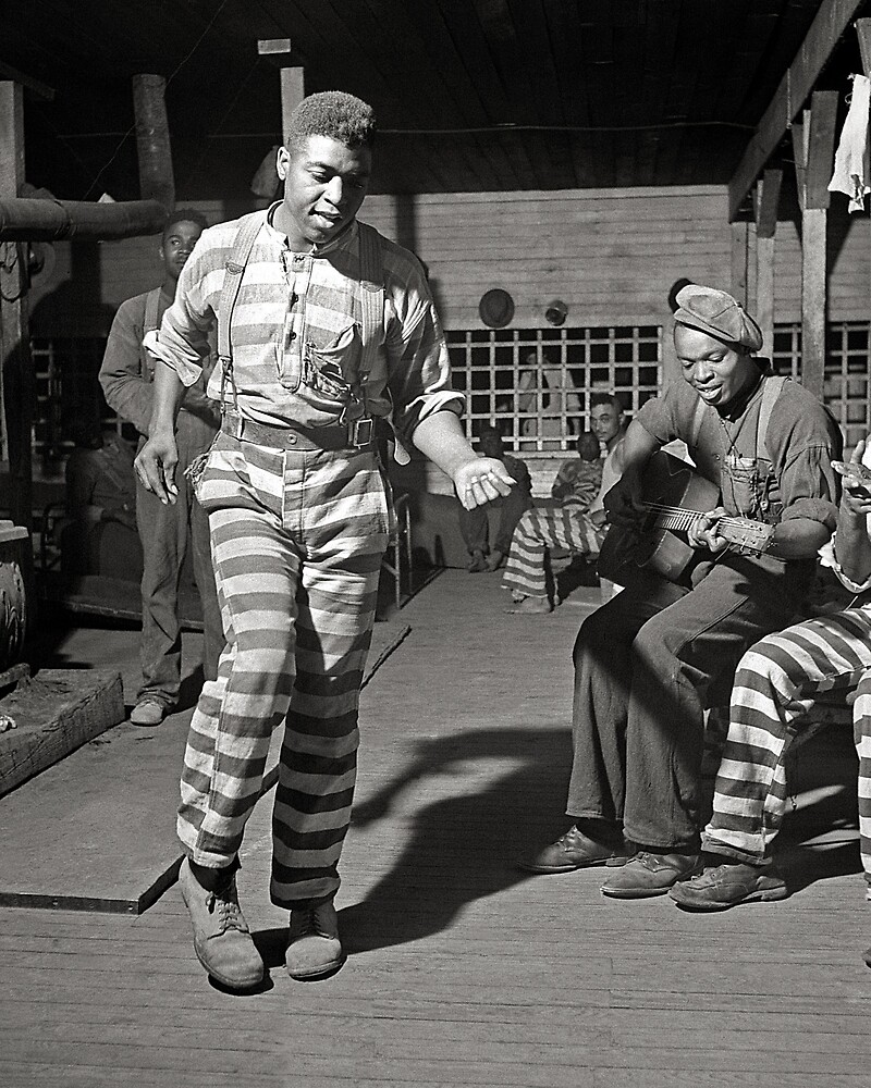Rockin' the Jailhouse, 1941. Vintage Photo by historyphoto