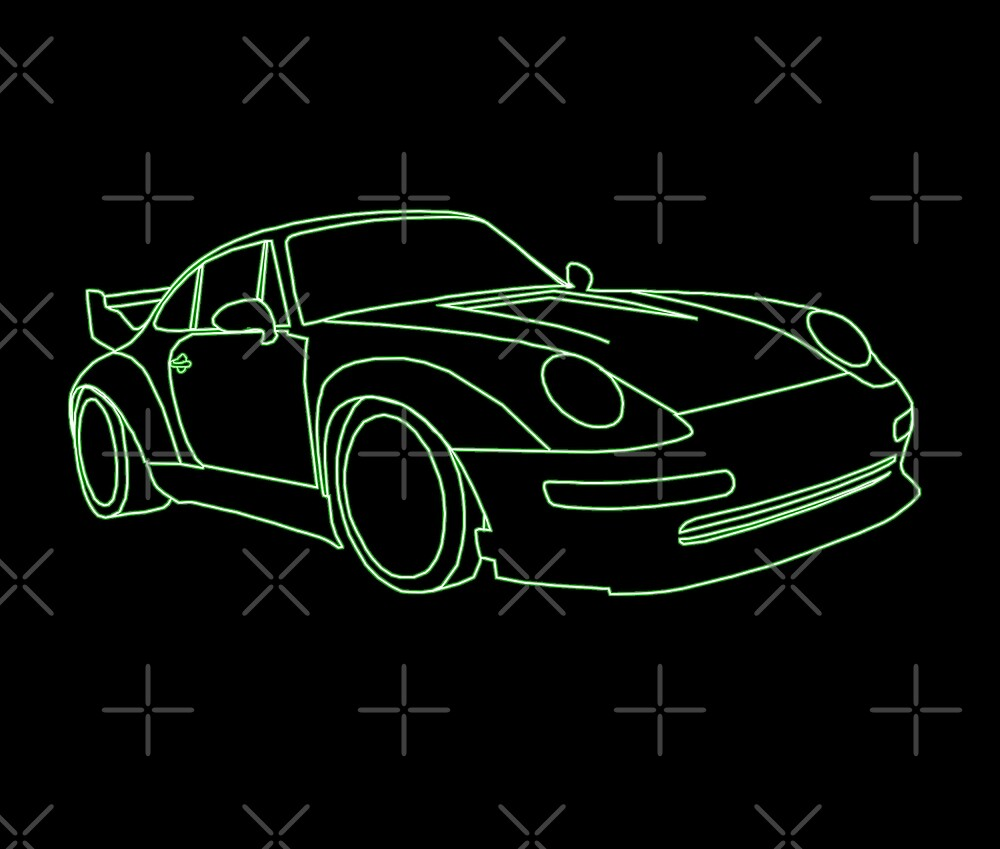 1995 Porsche 911 GT2 Green - Forza 4  by AustinG99