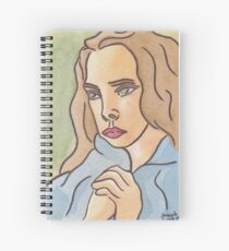 Quiet Longing Spiral Notebook