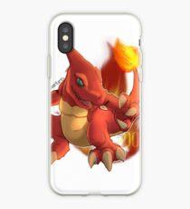 Red Lizard iPhone Case