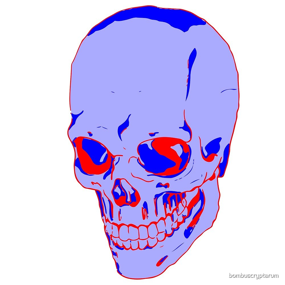 contrast skull by John Gendron