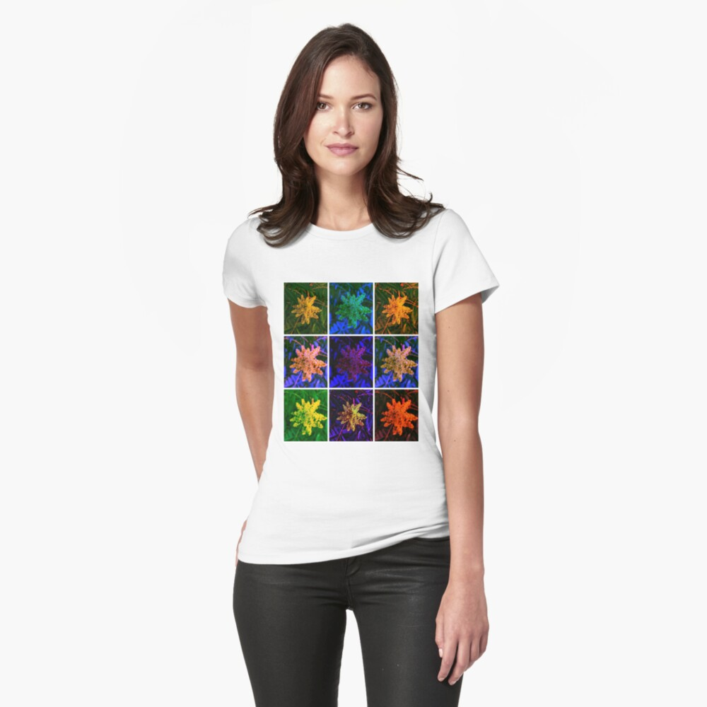 Sumac Collage Womens T-Shirt Front