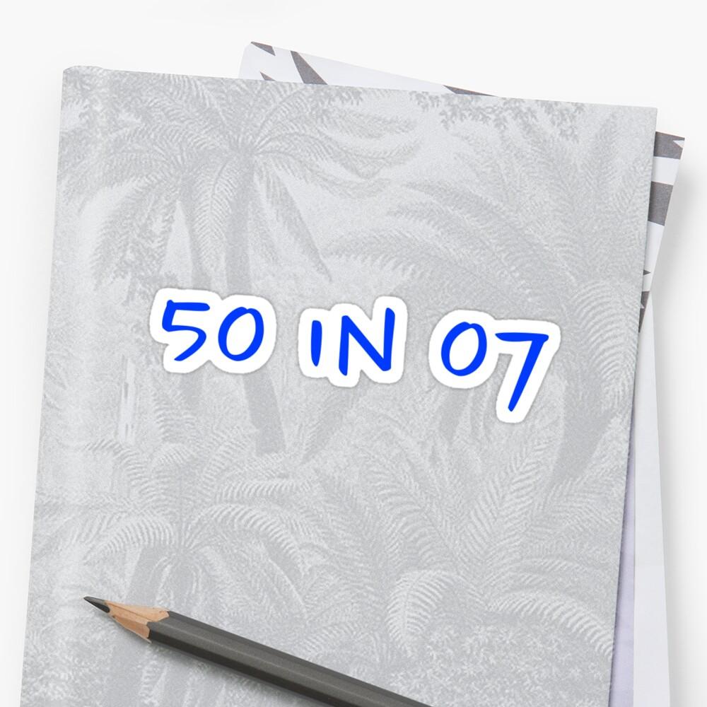 50 in 07 by macggreene