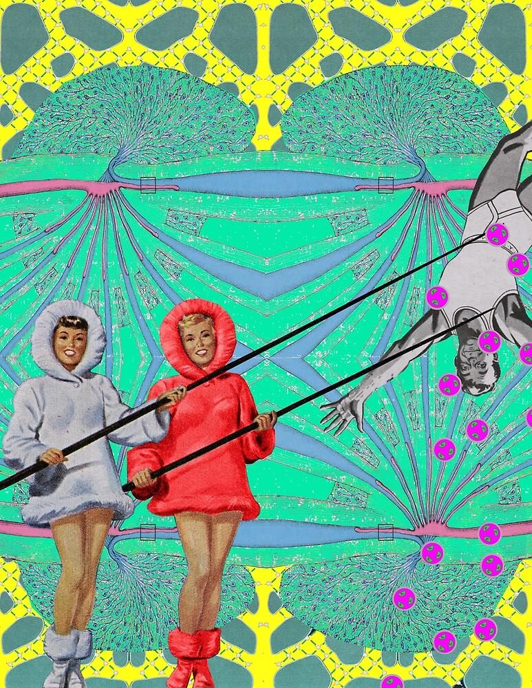 Gone fishing - Digital Collage by TaosBritDan