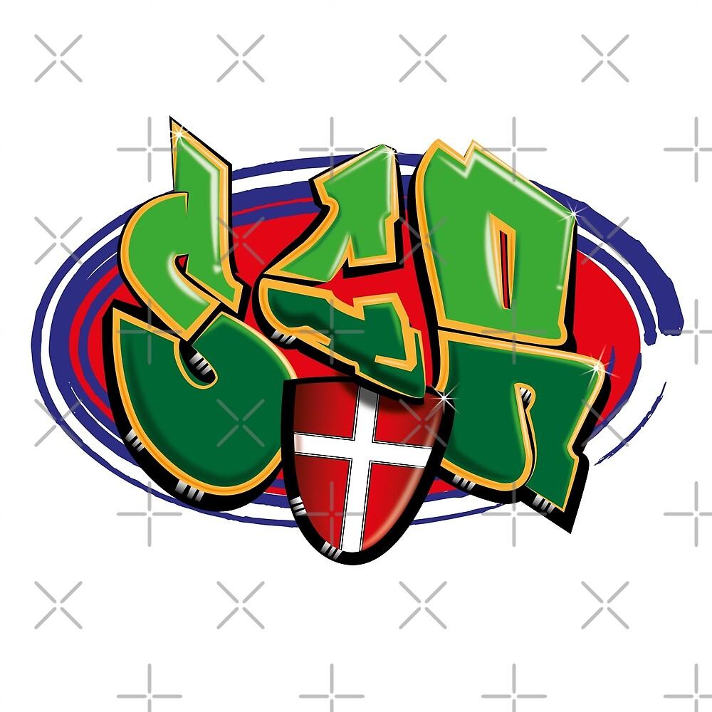 SCR graffiti by xxjudgexx