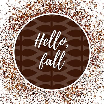 Hello, fall by rrh723