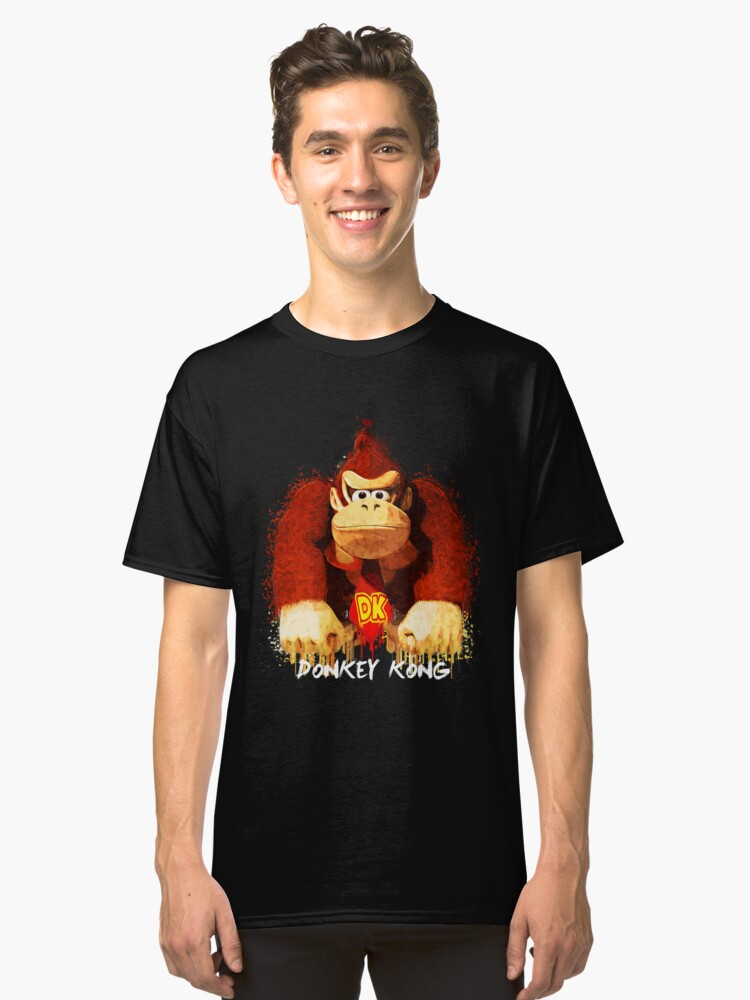 Donkey Kong Classic T-Shirt Front