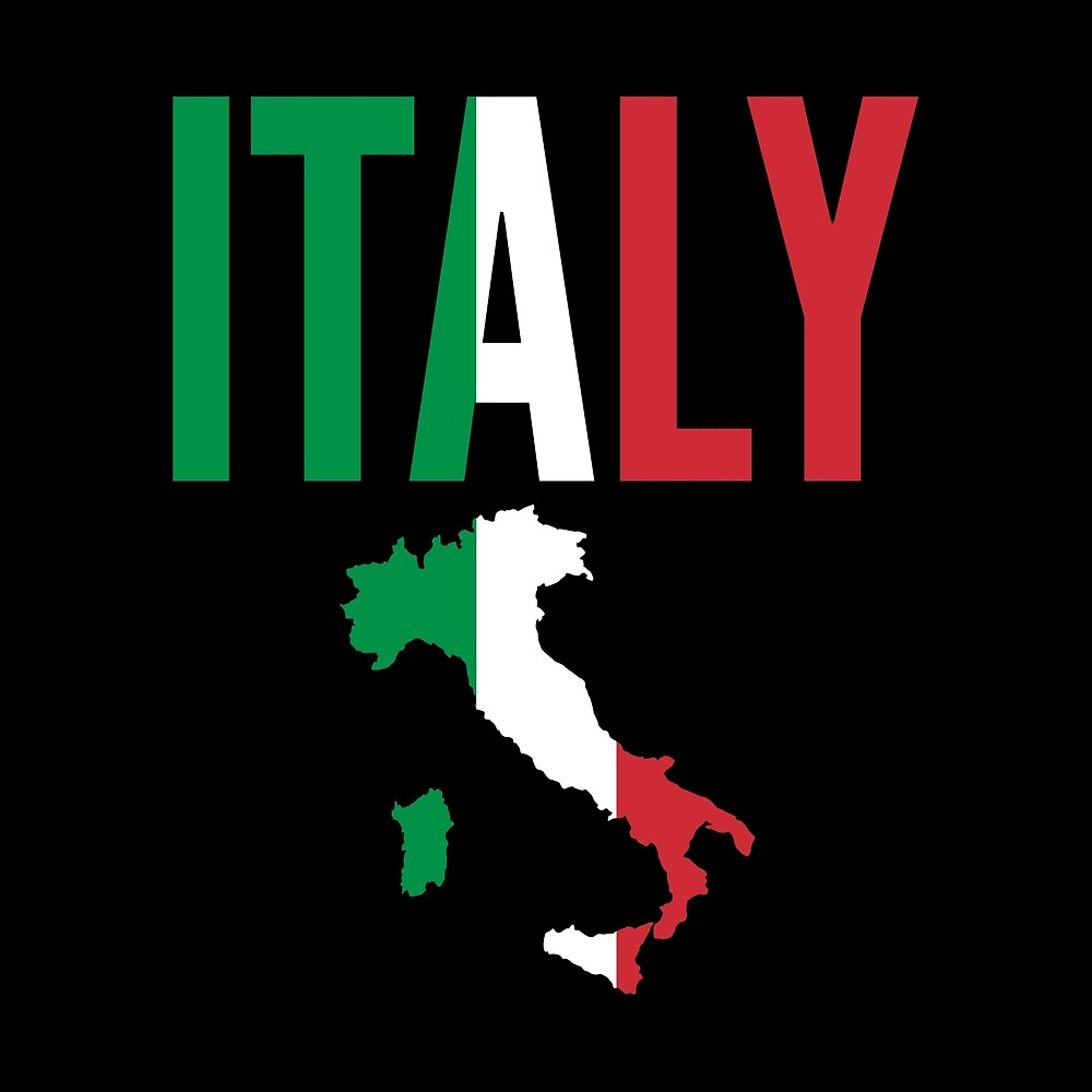 Italian Gift - Italy Map Country by FDST-shirts
