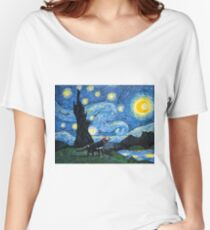 Starry Tasmanian night Women's Relaxed Fit T-Shirt