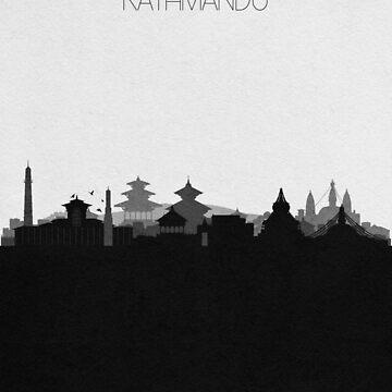 Travel Posters | Destination: Kathmandu by geekmywall