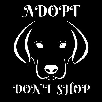 Adopt, Don't Shop Dog by LadyEirelyn