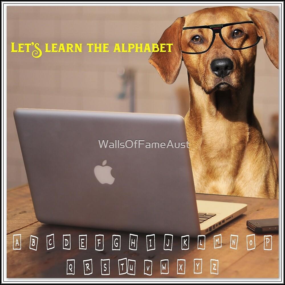 Help Me Learn The ABC. Boys Girls Fun Learning Kids WallsOfFameAust by WallsOfFameAust