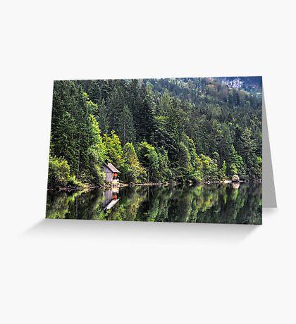 Altausseer See Greeting Card