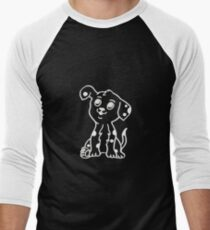 DALMATIAN PUPPY WITH PATCH Men's Baseball ¾ T-Shirt
