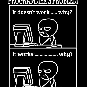 Programmers Problem Funny Programming Geek Jokes Gift by Teeshirtrepub