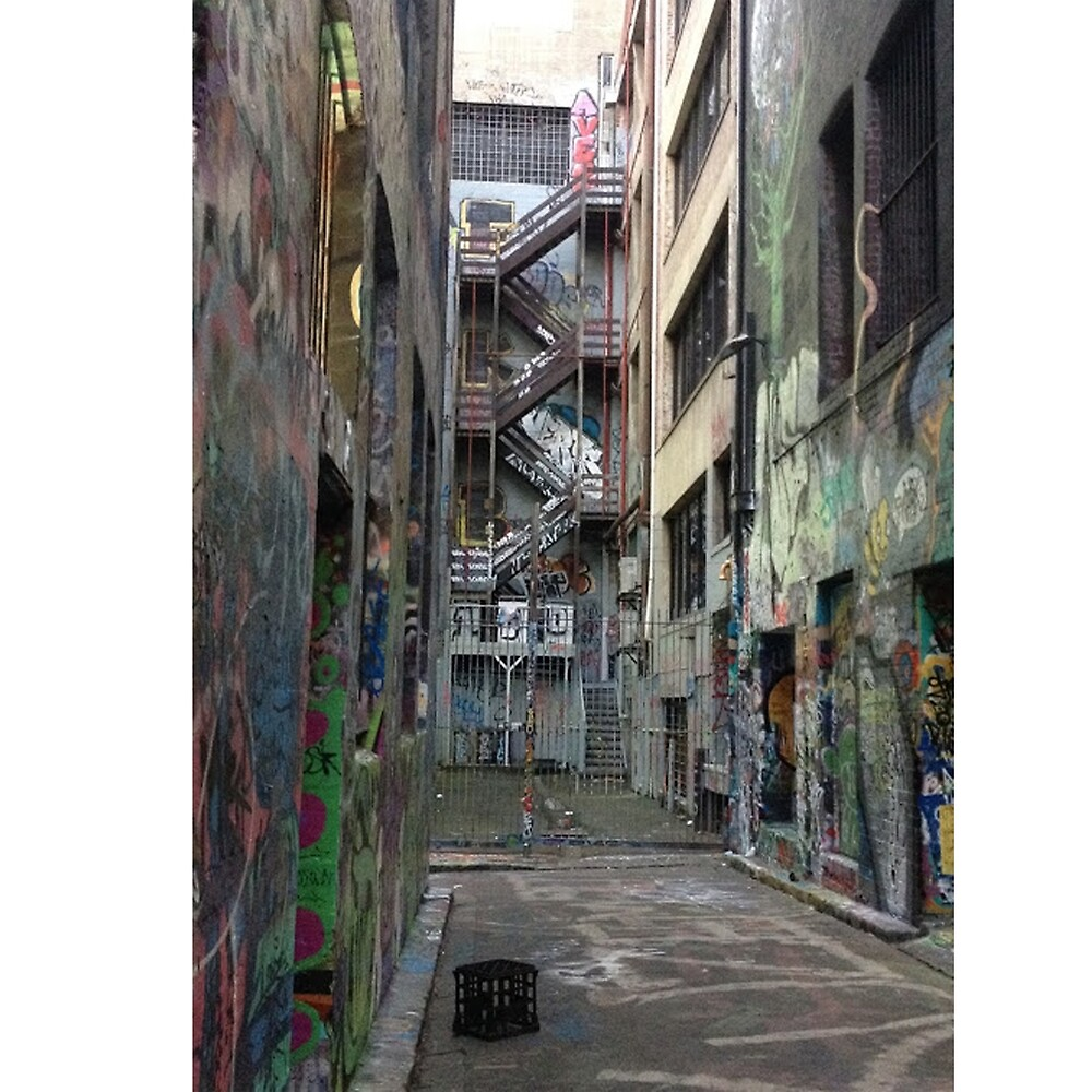 Beautiful Melbourne alley by Mousey25