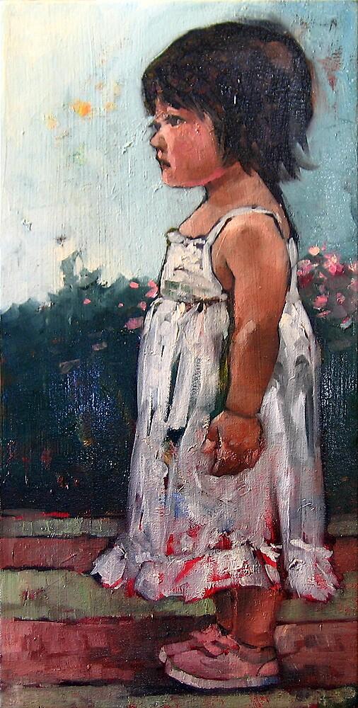 Girl in White by jhjjjoo