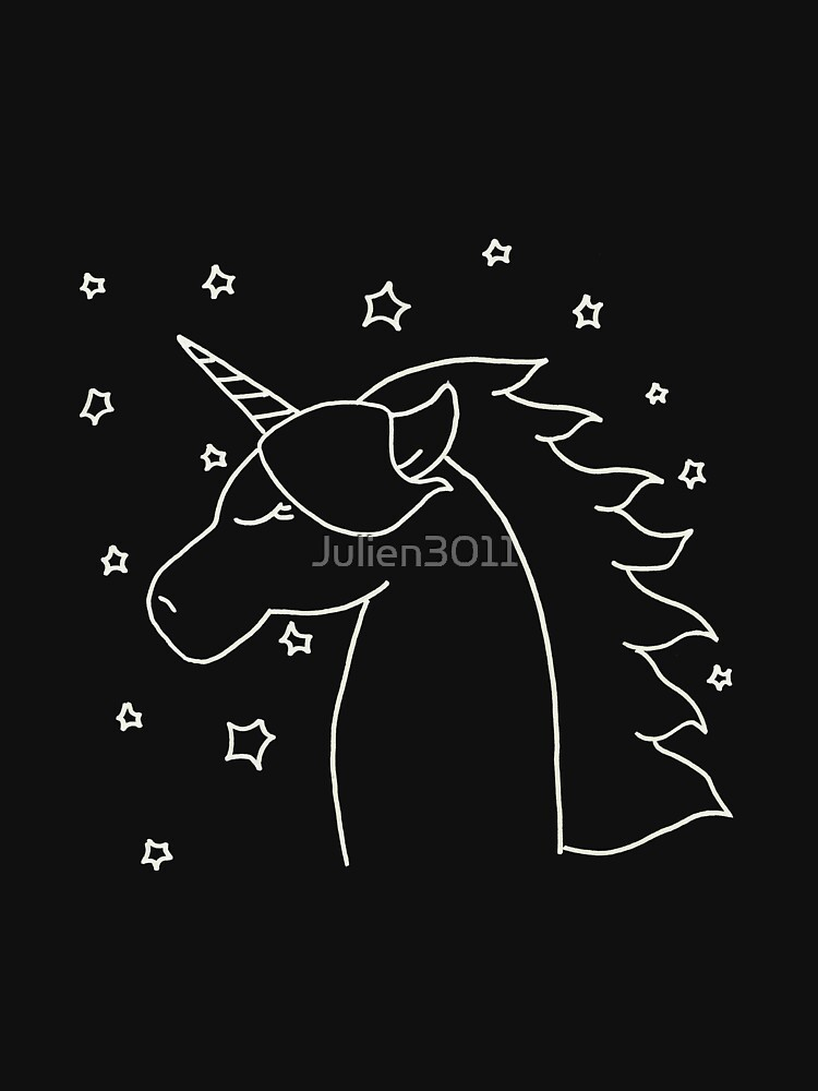 UNICORN WITH STARS by Julien3011