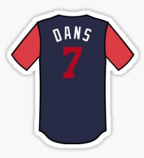 Dansby Swanson Players' Weekend Sticker