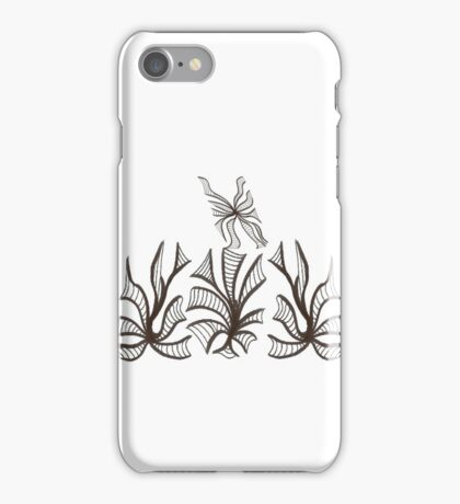 Florals & Fluttery iPhone Case/Skin