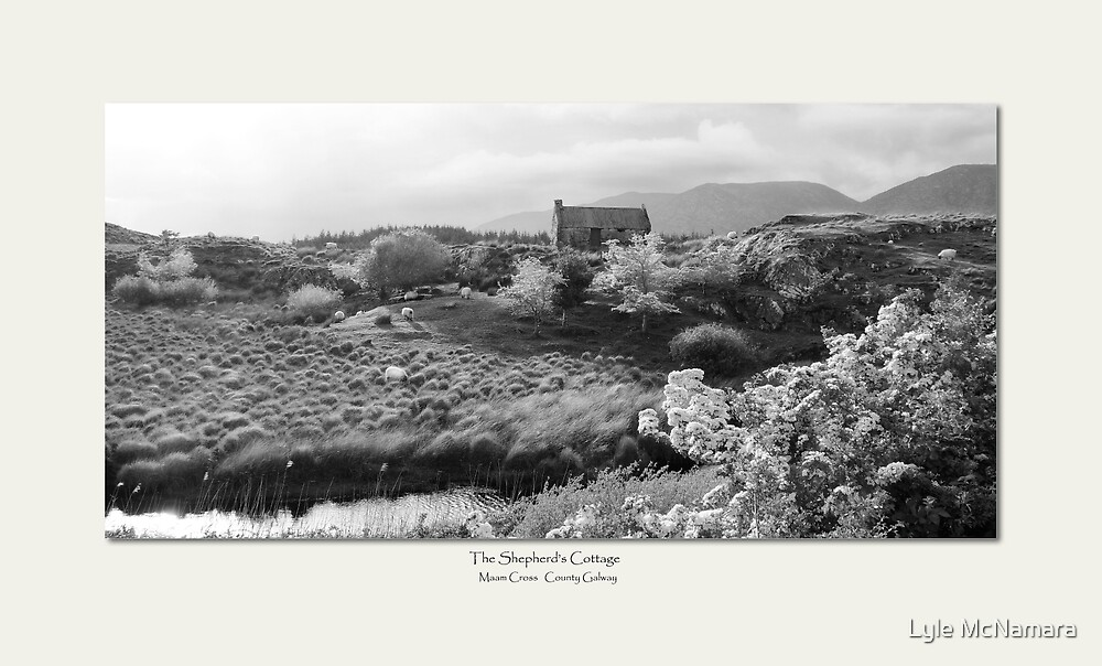 Shepherds Cottage - Maam Cross Ireland by Lyle McNamara
