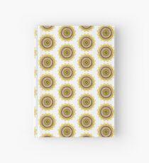 Gelber minimaler Mandala Notizbuch