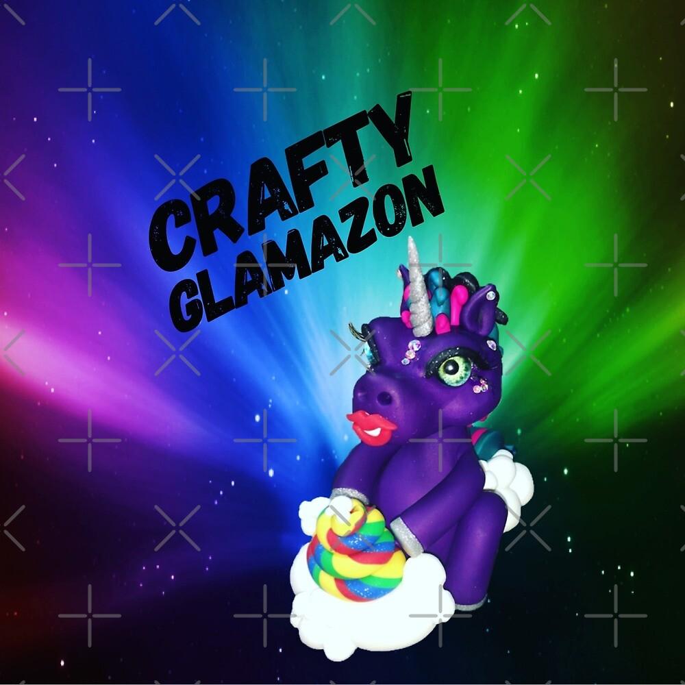 Unicorn Rainbow sky by CraftyGlamazon