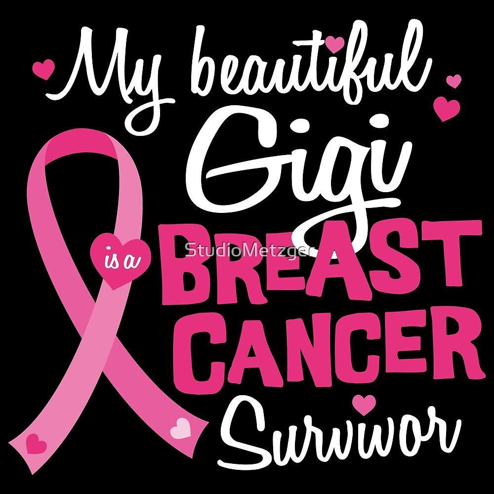 Beautiful Gigi Great Grandma Breast Cancer Survivor by StudioMetzger
