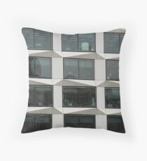 Office Block Throw Pillow