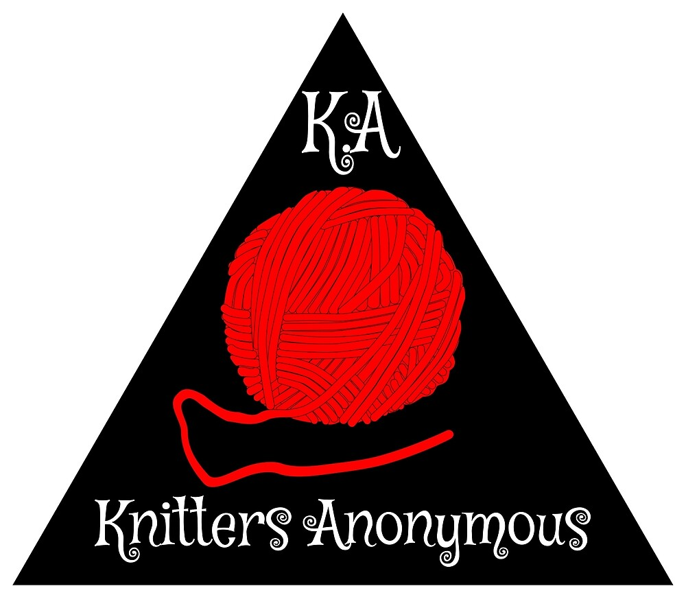 Knitters anonymous by bluehair