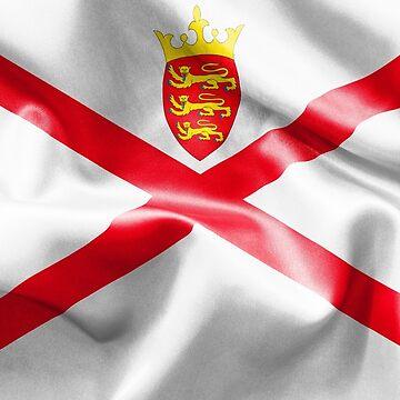 Jersey Flag by MarkUK97