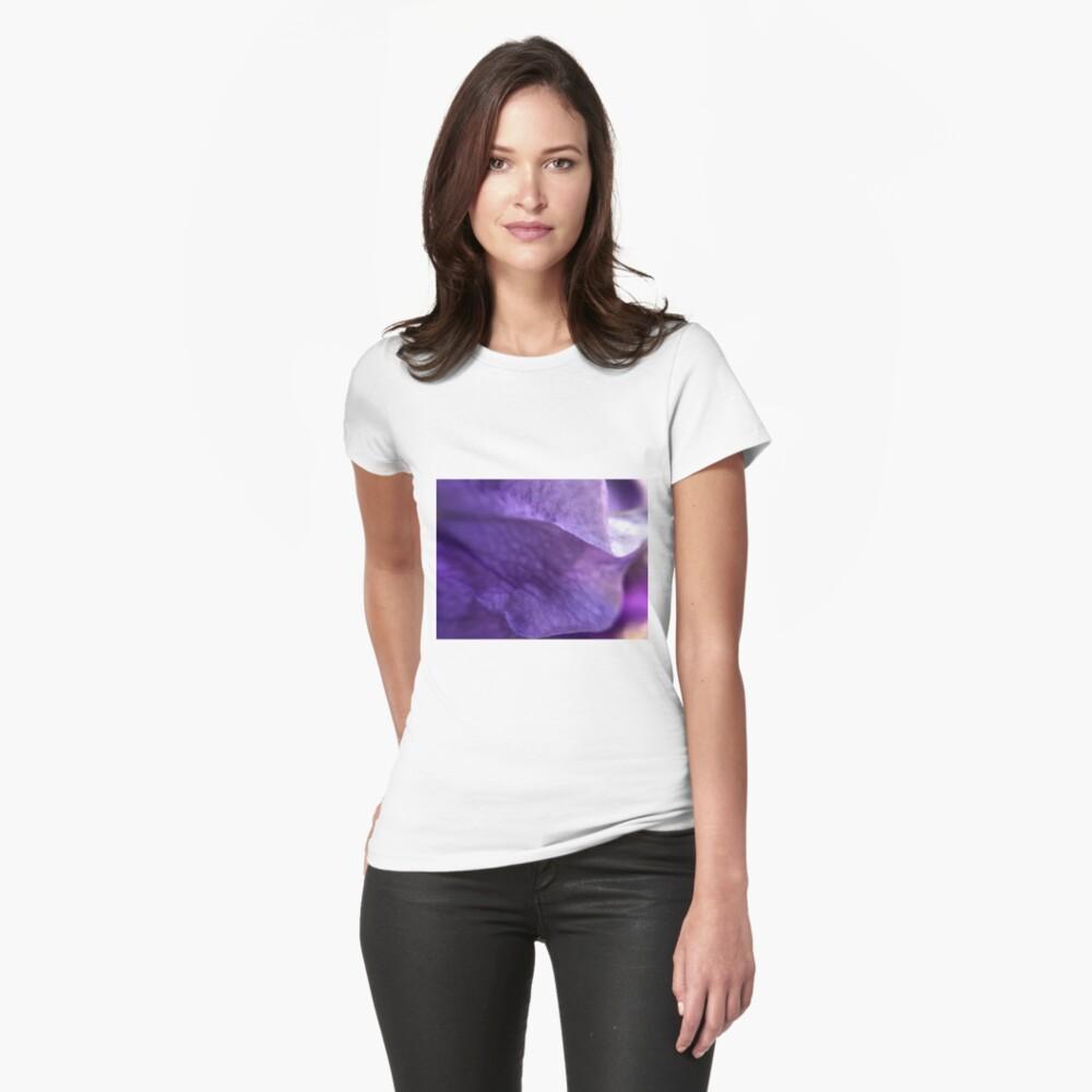 Purple flower Womens T-Shirt Front