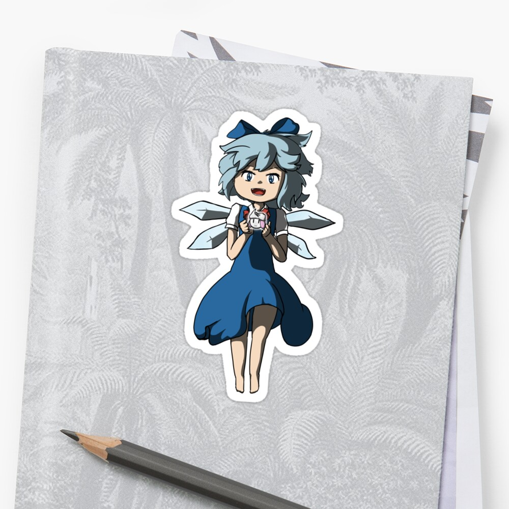 Cirno and Letty by EasternMouse